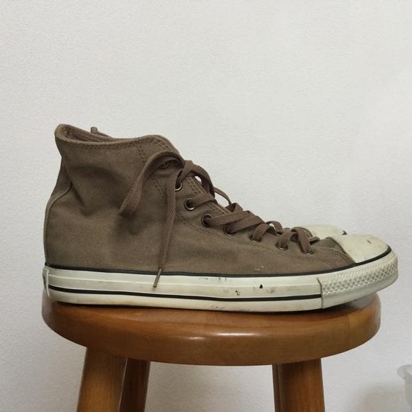 Converse All Star Tan High Top Sneaker Men's 11